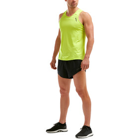 2XU GHST Singlet Hombre, wild lime/wild lime